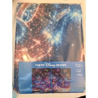 ディズニー(Disney)の新作★ディズニー カーテン 夜空 花火 ミッキーシェイプ(カーテン)