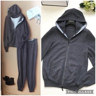 FOXEY - 美品 定価12万円 フォクシー FOXEY カシミヤ パーカー