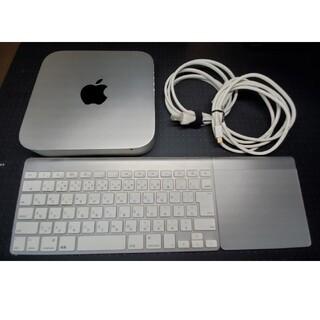 アップル(Apple)のMac mini MC816J/A、キーボード、トラックバッド(デスクトップ型PC)