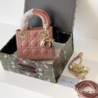 ディオール(Dior)の【美品】 Christian Dior ピンクのバッグ(その他)