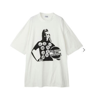 HYSTERIC GLAMOUR - 今期 ヒステリックグラマー PINS WOMAN ワンピース