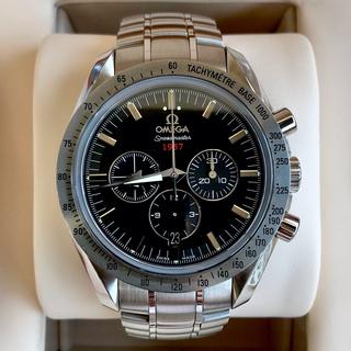 オメガ(OMEGA)の美品 オメガ スピードマスター ブロードアロー 1957 コーアクシャル(腕時計(アナログ))