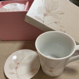 タチキチ(たち吉)の【未使用品】たち吉ペアマグカップ小皿付き(グラス/カップ)