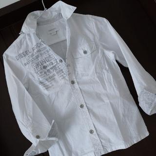 DIESEL - 【同梱200円引き】☆DIESEL KIDS ホワイトシャツ Sサイズ