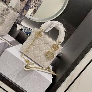 ディオール(Dior)の【新品】Christian  Dior 白いバッグ(その他)