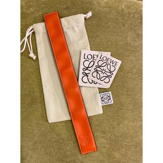 LOEWE - 美品 ロエベ LOEWE スラップ ブレスレット バングル
