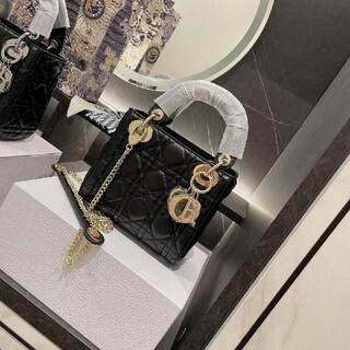 ディオール(Dior)の【美品】Christian Dior 黒のバッグ(その他)
