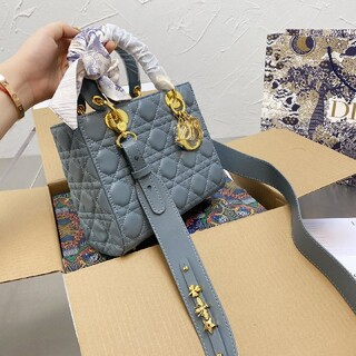 ディオール(Dior)の【美品】Christian Dior グレーのバッグ(その他)