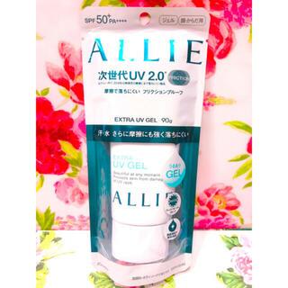 アリィー(ALLIE)の新品 Kanebo ALLIE エクストラUV ジェル 日焼け止めジェル(日焼け止め/サンオイル)
