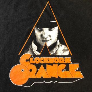 ART VINTAGE - 時計じかけのオレンジA Clockwork Orange 映画Tシャツ XL
