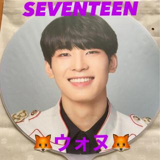 セブンティーン(SEVENTEEN)のウォヌ うちわ IDEAL CUT ソウルアンコン seventeen セブチ (K-POP/アジア)