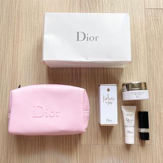 ディオール(Dior)のDior ディオール サンプル ポーチ 小物ポーチ メイクケース 収納 セット(ポーチ)