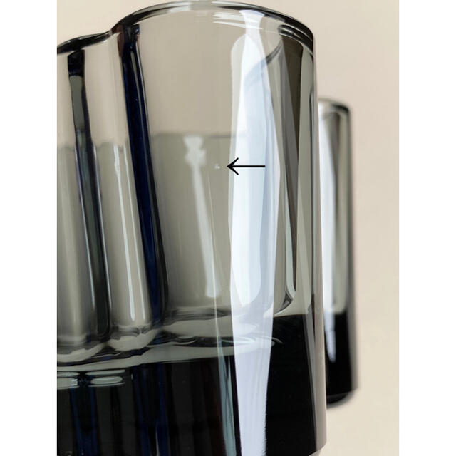 iittala(イッタラ)のアアルト キャンドルホルダー 55mm グレー 箱付き イッタラ Aalto インテリア/住まい/日用品のキッチン/食器(テーブル用品)の商品写真