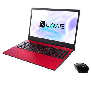エヌイーシー(NEC)の新品未使用☆NEC LAVIE N15 N1535/AAR (ノートPC)