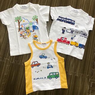 ファミリア(familiar)のファミリア tシャツ タンクトップセット 美品(Tシャツ/カットソー)