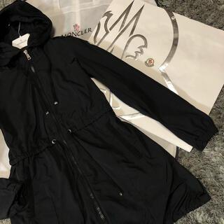 モンクレール(MONCLER)のモンクレール 国内正規品 TOPAZ サイズ00 ブラック 美品(スプリングコート)
