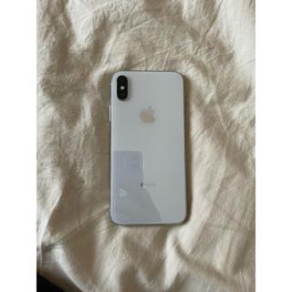 Apple - iPhone X 256GB シルバー silver SIMフリー