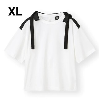 GU - GU×UNDERCOVER リボンデザインTシャツ