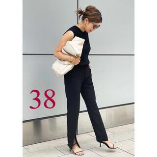 DEUXIEME CLASSE - ★2021SS 新品★ CINOH/チノ SLIT パンツ・ブラック・38