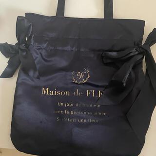 Maison de FLEUR - Maison de FLEUR トートバッグ ネイビー