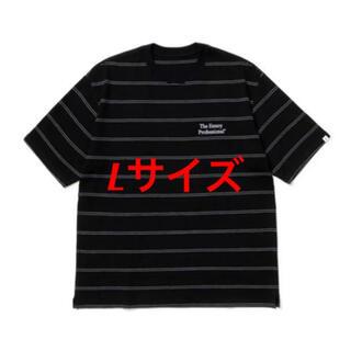 1LDK SELECT - Lサイズ 黒 ennoy エンノイ Pique Border ボーダー Tシャツ