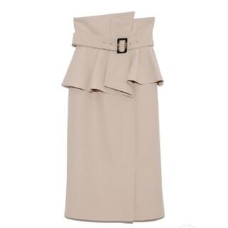 snidel - 【タグ付き・新品】snidel コルセットベルトタイトスカート