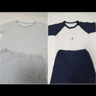 ムジルシリョウヒン(MUJI (無印良品))の無印良品 パジャマ 半袖 2着セット(パジャマ)