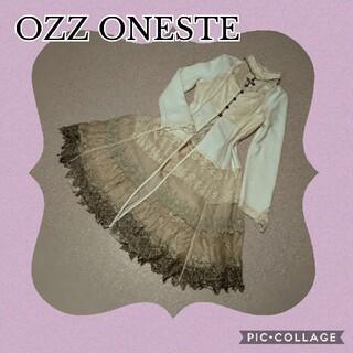 OZZON - OZZONESTE★4段レースの中世姫風ロングジャケット★ゴージャス