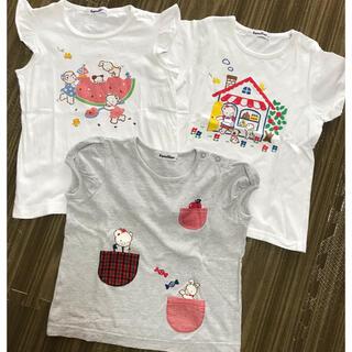 ファミリア(familiar)のファミリア tシャツ3枚 美品(Tシャツ/カットソー)