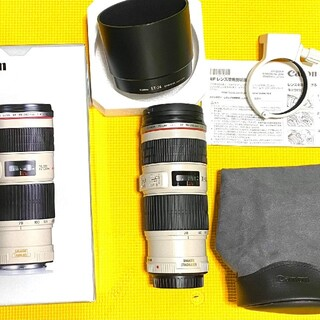 Canon - Canon EF 70-200mm F4L IS USM美品