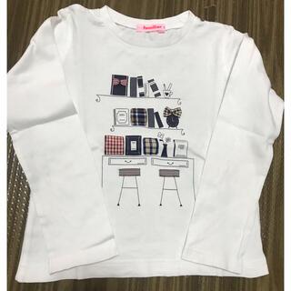 ファミリア(familiar)のファミリア ロングtシャツ 美品(Tシャツ/カットソー)