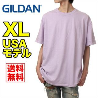 GILDAN - 【新品】ギルダン 半袖 Tシャツ XL 薄紫 無地 メンズ GILDAN