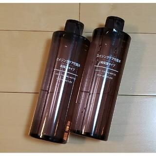 MUJI (無印良品) - 無印  エイジングケア化粧水  高保湿タイプ  大容量×2本