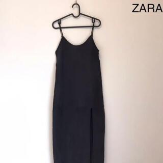 ZARA - ZARA ザラ サイドスリット入りキャミワンピース