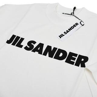 ジルサンダー(Jil Sander)のJIL SANDER ジルサンダー レディース ロゴTシャツ L(Tシャツ(半袖/袖なし))