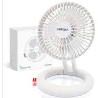 卓上扇風機 ミニ扇風機 サーキュレーター USB 卓上 充電式扇風機 静音(扇風機)