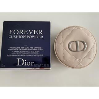 クリスチャンディオール(Christian Dior)のディオール スキンフォーエバークッションパウダー フェアー(フェイスパウダー)