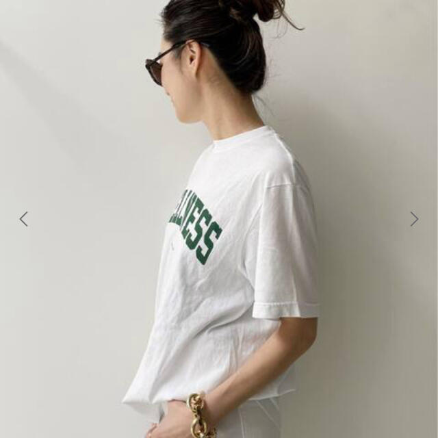 L'Appartement DEUXIEME CLASSE(アパルトモンドゥーズィエムクラス)のL'Appartement 【スポーティアンドリッチ】LOGO TEE レディースのトップス(Tシャツ(半袖/袖なし))の商品写真