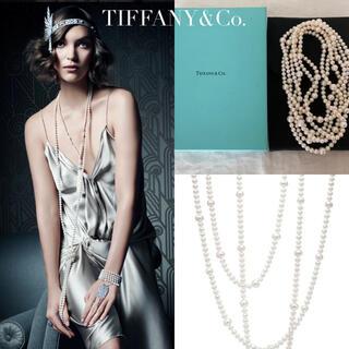 Tiffany & Co. - ティファニー パール ロング ネックレス