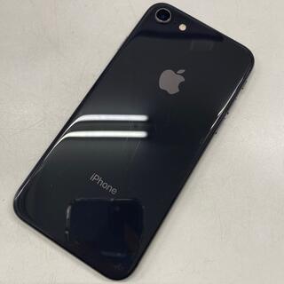 アイフォーン(iPhone)のSIMフリー☆中古 iPhone 8 64GB スペースグレイ(スマートフォン本体)