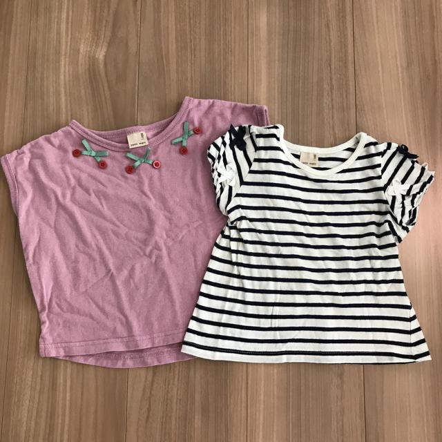 Branshes(ブランシェス)のブランシェス Tシャツ 90 女の子 キッズ/ベビー/マタニティのキッズ服女の子用(90cm~)(Tシャツ/カットソー)の商品写真