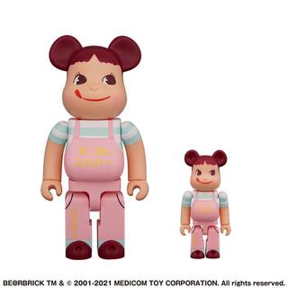 メディコムトイ(MEDICOM TOY)のBE@RBRICK ファミリータウン ペコちゃん 100% & 400% 不二家(ぬいぐるみ/人形)