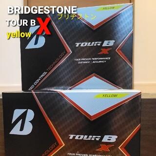 ブリヂストン(BRIDGESTONE)のBRIDGESTONEブリヂストン TOUR BX イエロー 2ダース(ゴルフ)