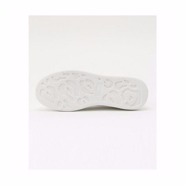 厚底ホワイトスニーカー 今季トレンド 身長アップ 39 レディースの靴/シューズ(スニーカー)の商品写真
