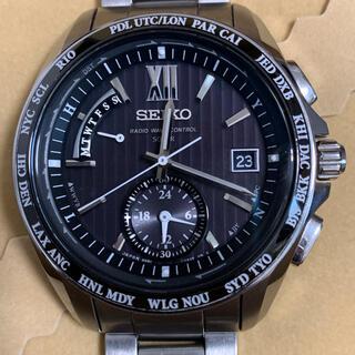 SEIKO - セイコー ブライツ ワールドタイム 電波ソーラー 腕時計 SAGA145