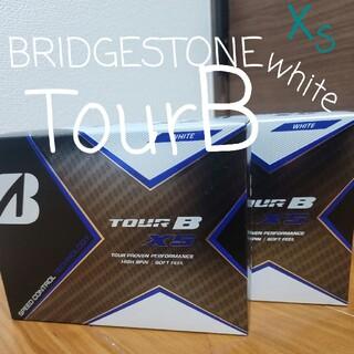 ブリヂストン(BRIDGESTONE)のBRIDGESTONE ブリヂストン TOUR B XS 白 2ダース(その他)