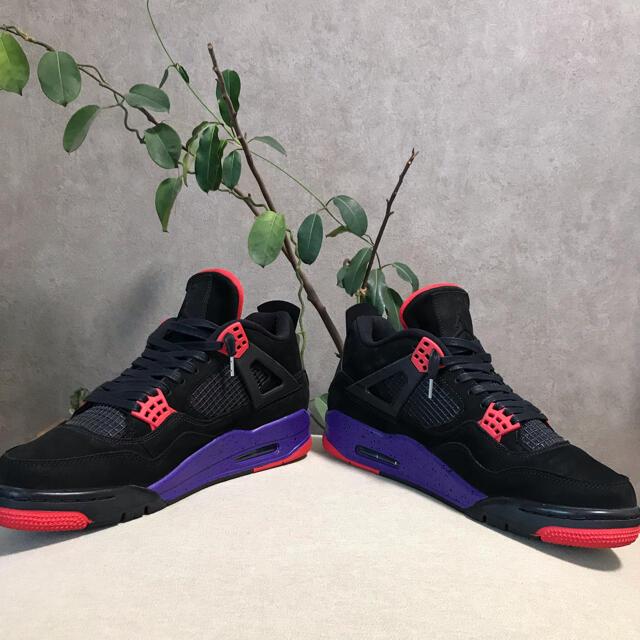 NIKE(ナイキ)の★AIR JORDAN 4 RAPTORS★27cm メンズの靴/シューズ(スニーカー)の商品写真