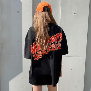 MIRROR9 Fire logo Tshirt