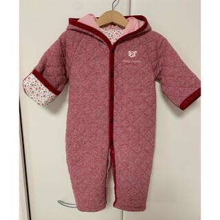 ファミリア(familiar)の赤ちゃんの城 ジャンプスーツ コート ロンパース 50 60 70 80(ジャケット/コート)