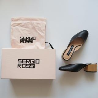 Sergio Rossi - 新品【sergio rossi】スリッポン